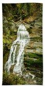 Lucifer Falls Treman Park Beach Towel