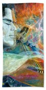 Lullabies For Nebulas Beach Sheet