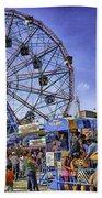 Luna Park 2013 - Coney Island - Brooklyn - New York Beach Towel