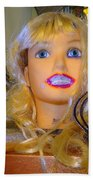 Luscious Lips Beach Towel