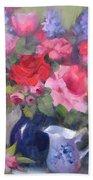 Luscious Roses Beach Towel