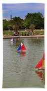 Luxembourg Gardens Paris Beach Towel