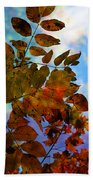 Lying In The Grass Beach Towel