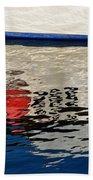 Lyme Regis Harbour - December Beach Towel