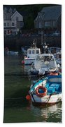 Lynmouth Harbour Devon Beach Towel