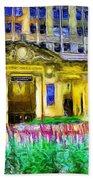 Lyric Opera House Of Chicago Beach Towel
