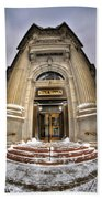M And T Bank Downtown Buffalo Ny 2014 V2 Beach Towel