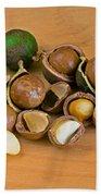Macadamia Nuts Beach Towel