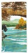 Macduff Fishing Beach Towel