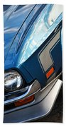 Mach 1 Ford Mustang 1971 Beach Towel