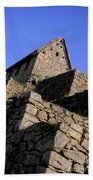 Machu Picchu Hut Peru Beach Towel