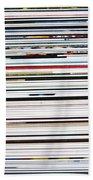 Macro Paper Spot Color Background Beach Towel