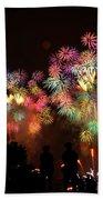Macy's July 4th Fireworks New York City  Beach Sheet