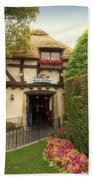 Mad Hatter Fantasyland Disneyland 01 Beach Towel