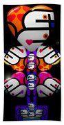 Madame Butterfly Beach Towel