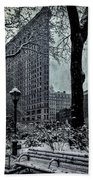 Madison Square And The Flatiron Building Beach Towel
