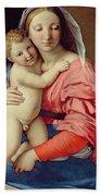 Madonna And Child Beach Towel