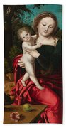 Madonna And Child Beach Towel