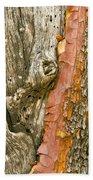 Madrone Tree Bark Beach Towel