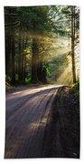 Magic Of Redwood Beach Towel