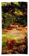 Magical Forest - Myth - Fantasy Beach Towel