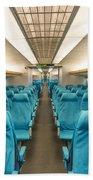 Maglev Train In Shanghai China Beach Towel
