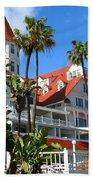 Magnificent Hotel Del Beach Towel