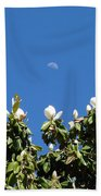 Magnolia Moon Beach Towel
