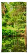 Magnolia Plantation Gardens Beach Towel