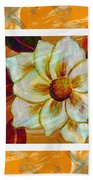 Magnolia Seduction Beach Towel
