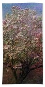 Magnolia Tree In Bloom Beach Towel