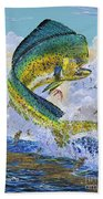 Mahi Hookup Off0020 Beach Towel