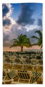 Mahogany Bay Beach-roatan-honduras Beach Towel