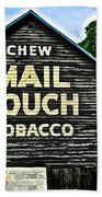 Mail Pouch Chew Beach Towel