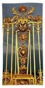 Main Golden Gates Of The Chateau De Beach Sheet