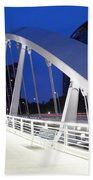 Main Street Bridge Beach Towel