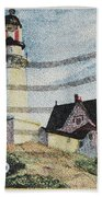 Maine 1820-1970 Beach Towel