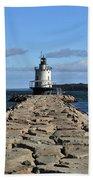 maine 43 Portland Lighthouse Beach Towel
