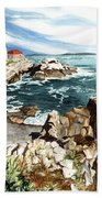 Maine Attraction Beach Towel