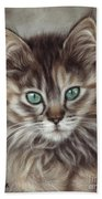 Maine Coon Beach Towel