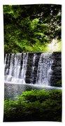 Mainline Waterfall Beach Towel