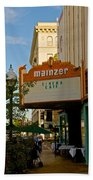 Mainzer Theater Beach Towel