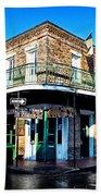 Maison Bourbon - New Orleans Beach Towel