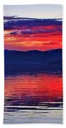 Majestic Idaho Beach Towel