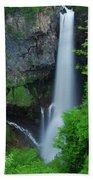 Majestic Kegon Falls Beach Towel