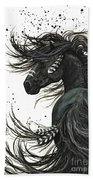 Majestic Spirit Horse  Beach Towel