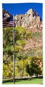 Majestic Sight - Zion National Park Beach Towel