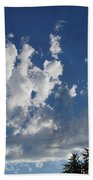 Majestic Sky - Building Cumulus Beach Towel