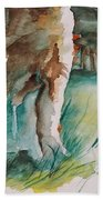 Majestueux Beach Towel