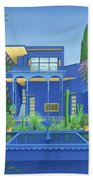 Majorelle Gardens, Marrakech Beach Towel